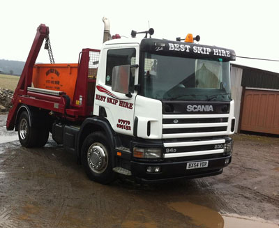 Best Skip Commercial Lorry Build